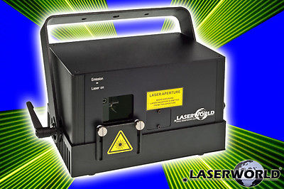 LASERWORLD DS 3300RGB Full Diode RGB Laser analoge Modulation